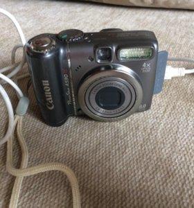 Canon PowerShot A590 IS (чехол в подарок)