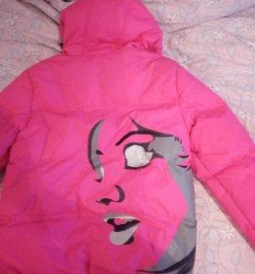 Новая двухстороняя куртка