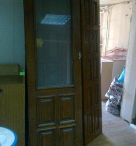 Двери межкомнатные 2-створчатые