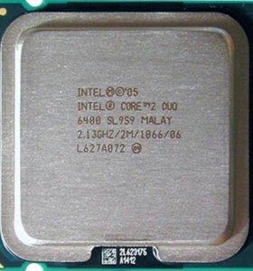 Процессор Intel CoreDuo E6400 - lga775