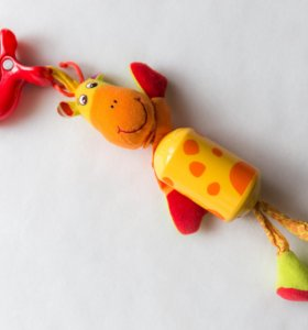 Подвес-колокольчик Tiny Love жираф Самсон