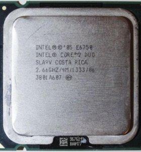 Процессор Intel CoreDuo E6750 - lga775