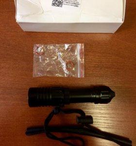 Подводный фонарь для дайвинга 5000 лм XM-L2, 18650