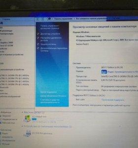 Ноутбук Lenovo g780 Торг !
