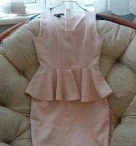 Платье на подкладе полиэстр новое
