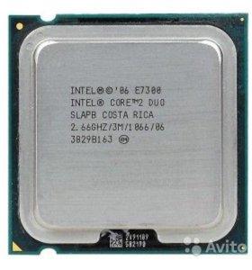 Процессор Intel CoreDuo E7300 - lga775