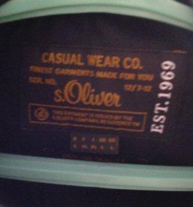 Куртка кожаная S.Oliver.