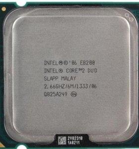 Процессор Intel CoreDuo E8200 - lga775