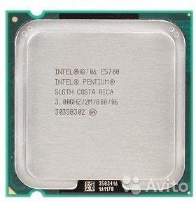 Процессор Intel CoreDuo E5700 - Lga775