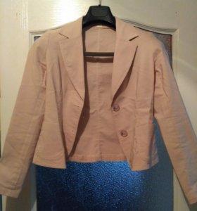 пиджак стрейчевый