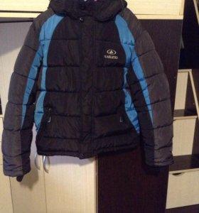 Куртка зимняя ( на 8-10 лет)