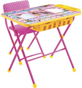Столик с пеналом и стульчик