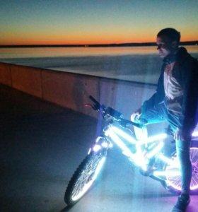Светодиодный велосипед