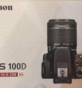 Новая камера Canon EOS 100D kit 18-55 IS STM