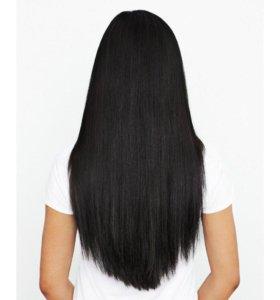 Волос натуральный 48 см