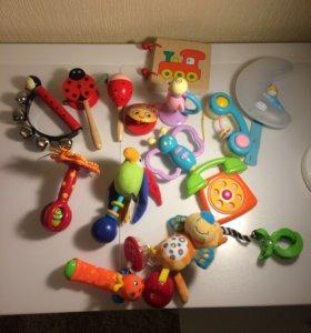 Игрушки tiny love,yookidoo ,Cotoons