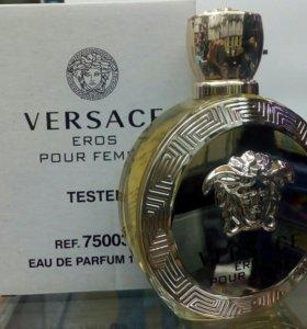 "Versace100ml."" Eros""тестер,оригинал"