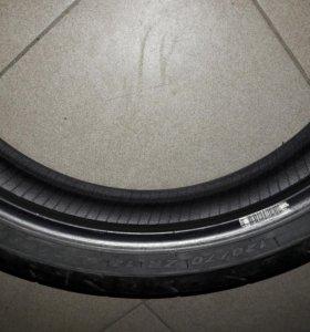 Мото резина передняя Pirelli 120/70 zr 17 58w