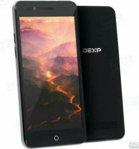 Смартфон DEXP Ixion MS350 Rock Plus 8 ГБ черный