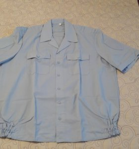 НОВАЯ. Рубашка полиции мужская короткий рукав.