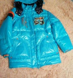 Новая тёплая куртка до - 20'