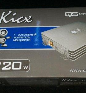 Усилитель Kicx QS 1.350 моноблок