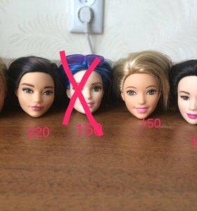Головы кукол барби barbie