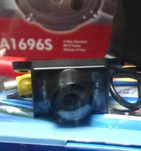 Автомобильная камера с подсветкой заднего вида