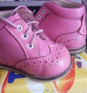 ботинки на первый шаг Тотто