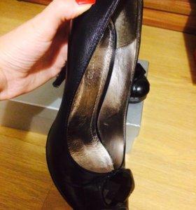 Туфли кожаные р-р 37