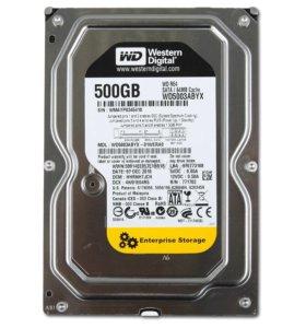 "Жесткие диски 500Gb 3,5"" SATA"