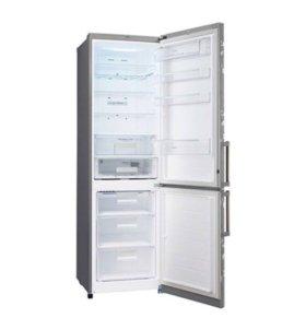 Холодильник LG GA-B489ZVSP инверторный процессор