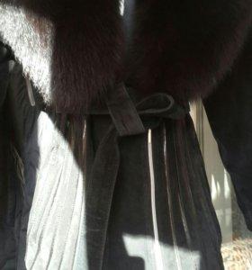 Натуральная замша.Куртка