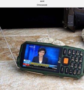 FM-ТV-Телефон Power bank 9800 мАч