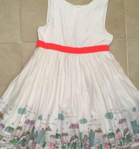 Платье mothercare 140