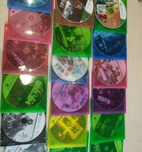 Игровые диски на прошитые XBOX360