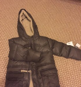 НОВАЯ зимняя куртка р 110
