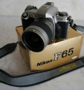 Nikon F65 зеркальный пленочный