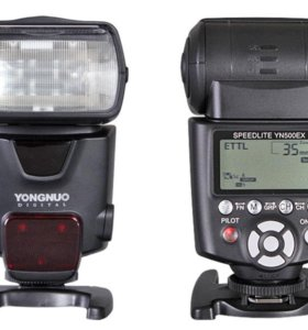 Вспышка Canon YN-500EX TTL + подарки