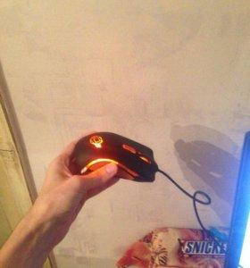 Игровая мышь ocelote world с подсветкой