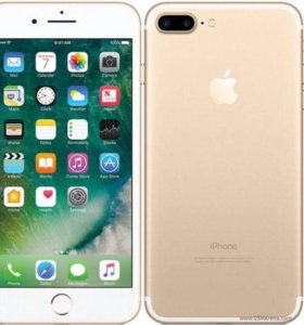 Apple iPhone 7 плюс Gold