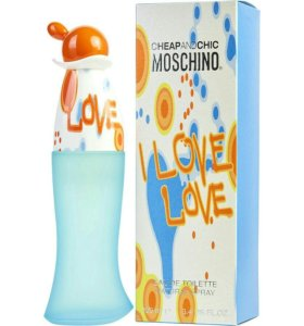 Moschino Cheap & Chic I Love Love, женский парфюм.