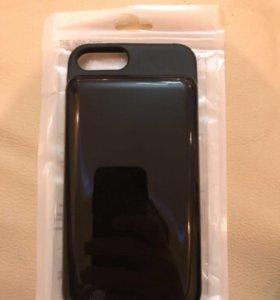 Чехол зарядчик для iPhone 6+ плюс 7+ плюс
