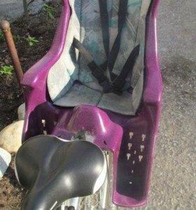 Велокресло с креплением на багажник