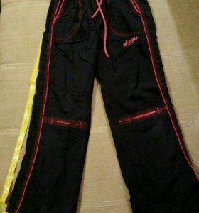 Утепленные брюки для девочки на подкладке из флиса
