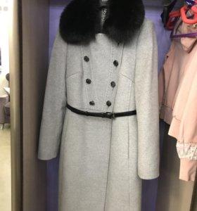 Пальто 48/170, зима до минус 20, всё натуральное