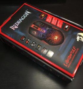 Игровая мышь Defender Redragon Lavawolf