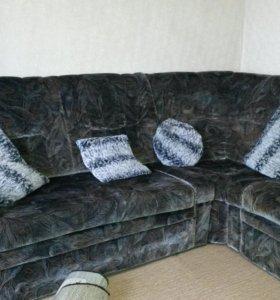 Диван угловой +кресло кровать