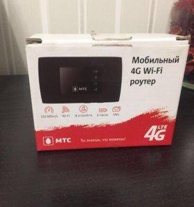 Мобильный роутер МТС 4G LTE Wi-Fi