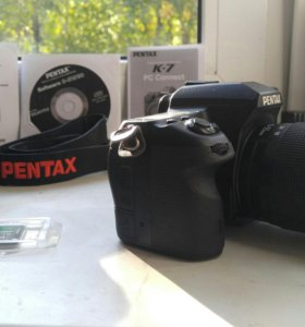 Фотоаппарат Pentax K7 и обьективы